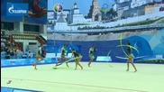 България - топки и ленти - Световна купа Казан 2014
