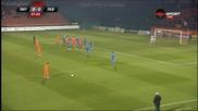 Литекс - Левски 0:0 /Първо полувреме/, 1/4-финал, Купа на България