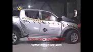 Crash Test 2008 Mitsubishi L200 Sportero Triton Euroncap