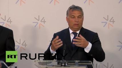 Czech Republic: Orban demands greater German involvement in refugee crisis