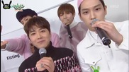 [eng] 151204 Music Bank B.a.p Himchan Mc Cuts Bts V