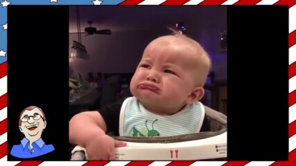 Бебе опитва броколи за пръв път - Смешна реакция