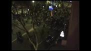 Погроми и масов бой в Париж