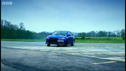 Subaru Impreza vs Mitsubishi Evo Top Gear
