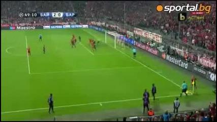 Байерн Мюнхен смачка Барселона!