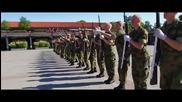 Впечатляващи трикове от военно обучение