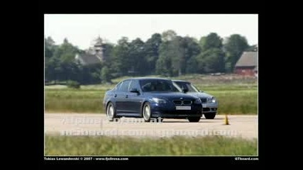 BMW Alpina B5 Vs Mercedes E55 AMG