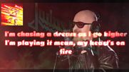 Judas Priest - No Surrender / Lyric Video /