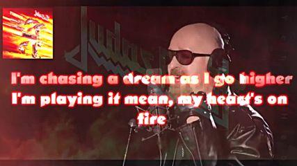 Judas Priest - No Surrender / Lyric Video /