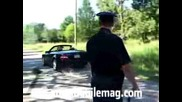 Dodge Charger Police Car Burnouts!!
