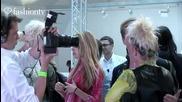 Ellen Von Unwerth at Pam Hogg Arrivals - Paris Fashion Week Spring 2012 Pfw