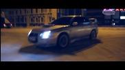 Subaru wrx sti Дрифт