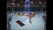 Nexus срещо John Cena и Randy Orton отборен мач маси,стълби и столове Smackdown vs Raw 2011