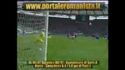 Roma - Sampdoria (1 - 0totti)