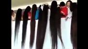 Китайки с дълги коси