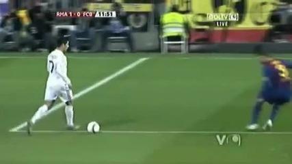 Луд коментатор. Гол на Кр. Роналдо. Реал М. - Барселона 1-2