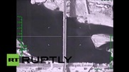 Syria: Russian jets level militant-controlled bridge near Raqqa