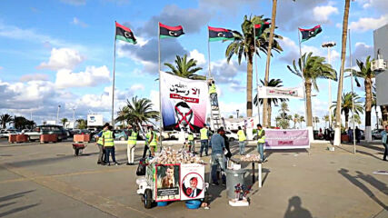 Libya: Anti-Macron protesters gather in Tripoli