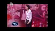 Music Idol 3 - Влюбената Двойка Момчил И Благовеста - Журито Е Без Думи