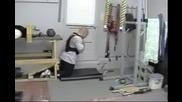 Тренировките на боксьор