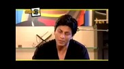 Shahrukh Khan on B4u Music Snap Shots answering questions - Youtube