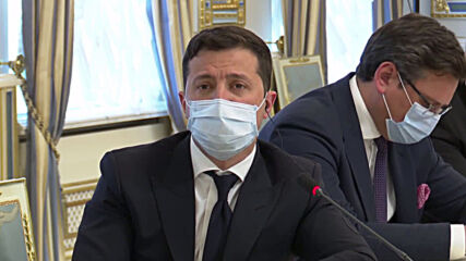 Ukraine: 'They are everywhere' - Zelensky jokes about Russian presence during press conference with Blinken