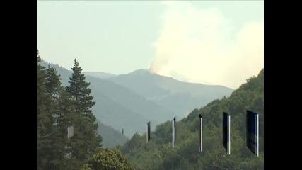 Пожарът в Рила е овладян