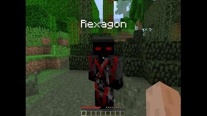minecraft survival епизод 1 w/rexagon