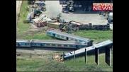Тежка катастрофа между влак и камион в Астралия отне живота на един човек, други 10 са тежко ранени