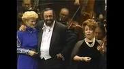 Luciano Pavarotti And Aprile Millo - Brindisi From Traviata