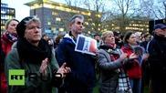 Germany: Hamburg residents show solidarity to Paris attack victims