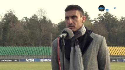 Светослав Петров: Имаме отбор, с който можем да сме в челните места