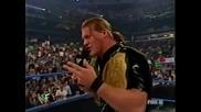 Rob Van Dam and Chris Jericho Segment Raw 2002