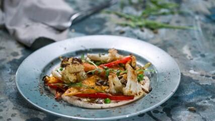 Печени зеленчуци с крем от кашу | Бон Апети | 24Kitchen Bulgaria