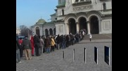 """Стотици миряни посрещнаха чудотворната икона на """"Пресвета Богородица-Геронтиса"""""""
