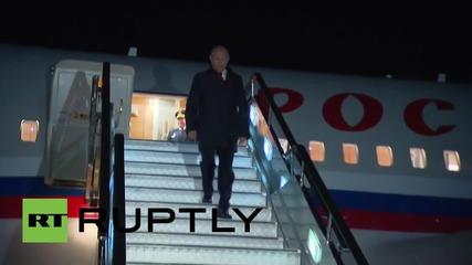 Русия: Путин кацна във Владивосток за първият Източен Икономически Форум