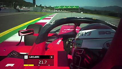 Ф1 - Шарл Льоклер спечели квалификацията за Гп на Австрия