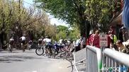 Тежък инцидент с колоездачи