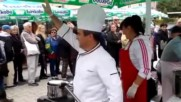 Фестивал на рибата и виното в Бургас 2017 - ден първи