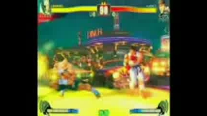 sf4 Ryu Vs Sagat