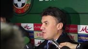 Михайлов: Отборите и президентите на футболните клубове да се уважават
