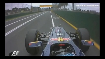 F1 2011 Australian S.vettel Pole Lap