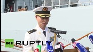 Russia: Chinese destroyer arrives in Vladivostok for joint naval exercises