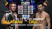 T.j. Dillashaw (c) vs Dominick Cruz (ufc Fight Night 81, 17.01.2016)