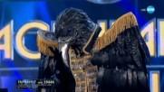 Гарванът изпълнява Thriller на Michael Jackson | Маскираният певец