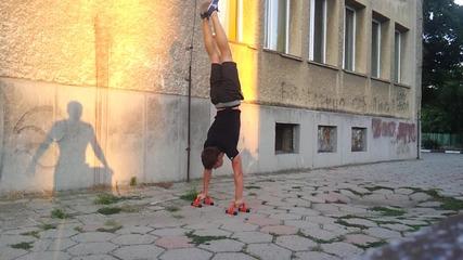 Handstand Challenge Николай Михайлов
