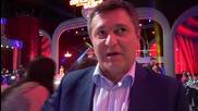 Dancing Stars - Милен Цветков подкрепя Елена и Дидо (24.04.2014г.)