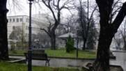 Един дъждовен ден в Свищов