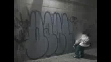 real street life of graffiti