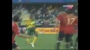 28.06 гол на Мфела ! Испания - Юар 3:2 Купа на Конфедерациите